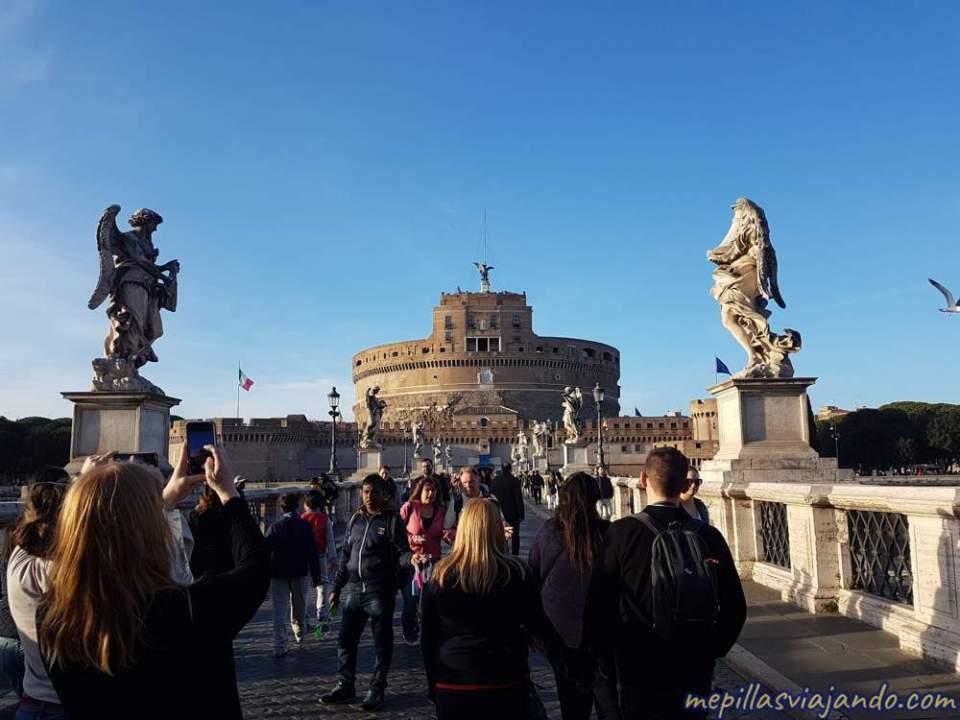 Los mejores free tours de Roma, Castillo Sant'Angelo