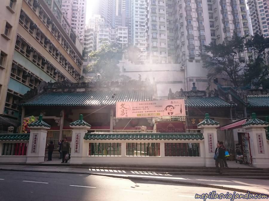 Templo Man Mo, Hong Kong