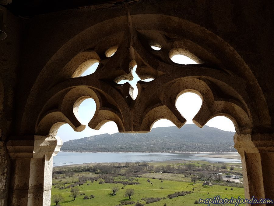 Vistas desde el castillo de Manzanares el Real