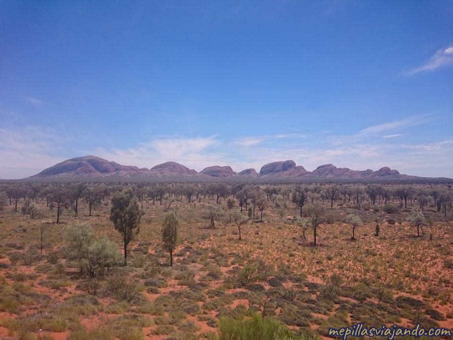 Road trip en campervan por el desierto australiano