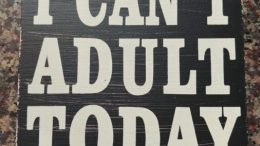 rules for being an adult