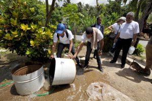 En 10 mil visitas a hogares en Samaná el MEPyD y Salud Pública eliminan 30 mil criaderos de, mosquito aedes aegypti