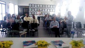 Autoridades y representantes de sectores productivos de Puerto Plata reciben el Plan de Desarrollo Económico Local.