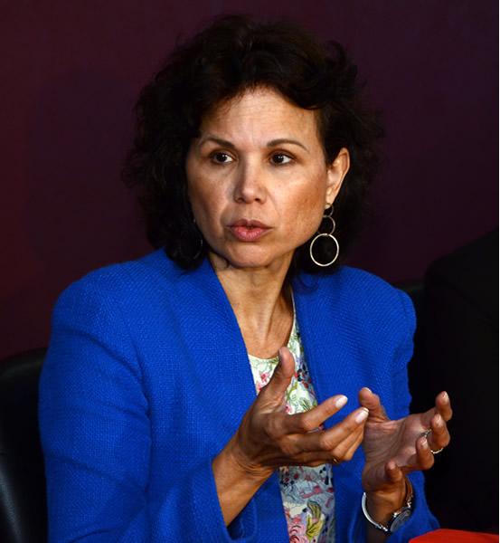 María Martínez, consultora del BID
