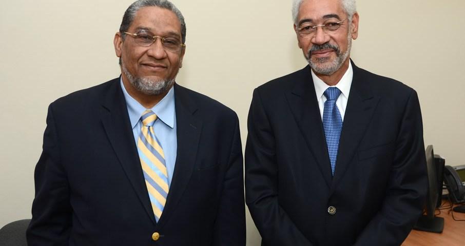 Roberto Liz y Marcos Villamán