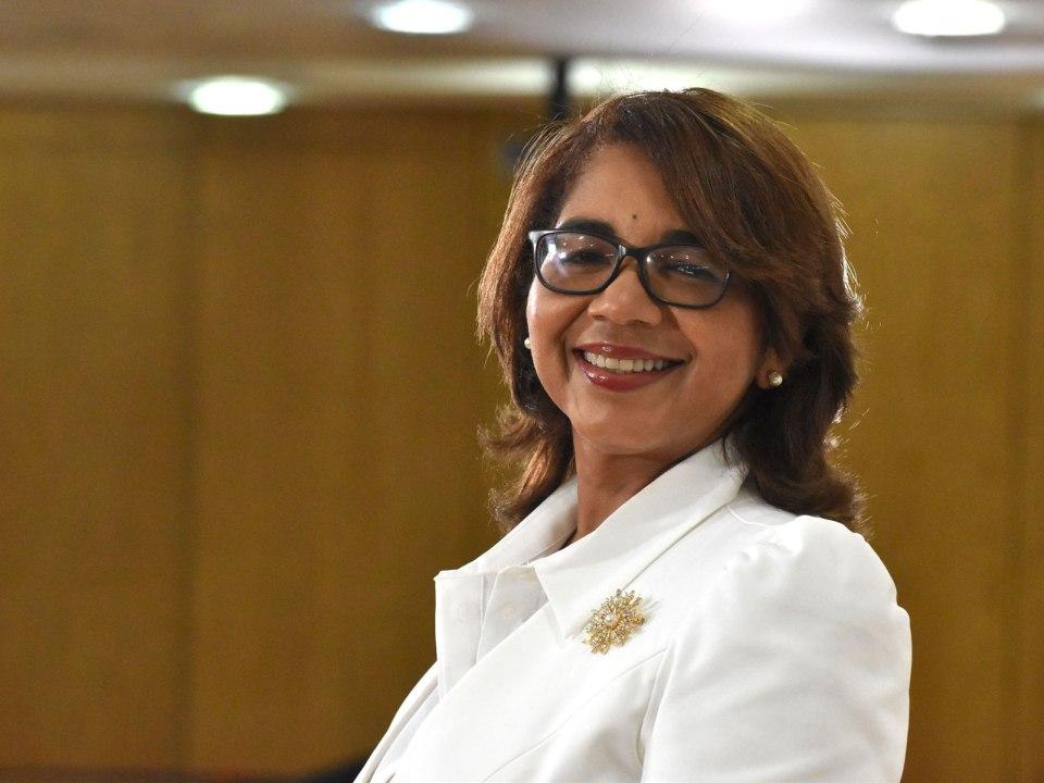 Olaya Dotel Caraballo, viceministra de Cooperación Internacional del Ministerio de Economía, Planificación y Desarrollo y Ordenadora Nacional de los Fondos Europeos para el Desarrollo.