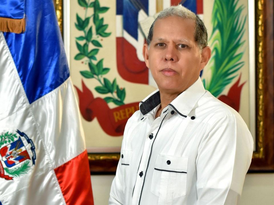 Domingo Matías, viceministro de Ordenamiento Territorial y Desarrollo Regional, del Ministerio de Economía, Planificación y Desarrollo