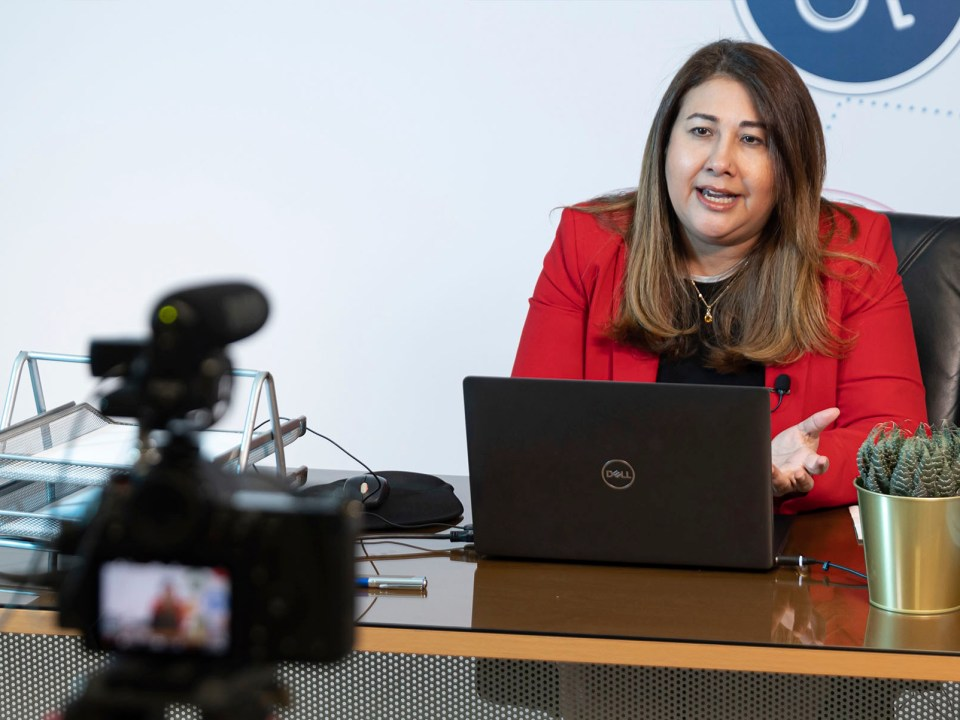La directora de CASFL, Vielka Polanco, participó en el seminario internacional de la Asociación Cibao de Ahorros y Préstamos sobre resiliencia en los nuevos tiempos para las entidades sin fines de lucro