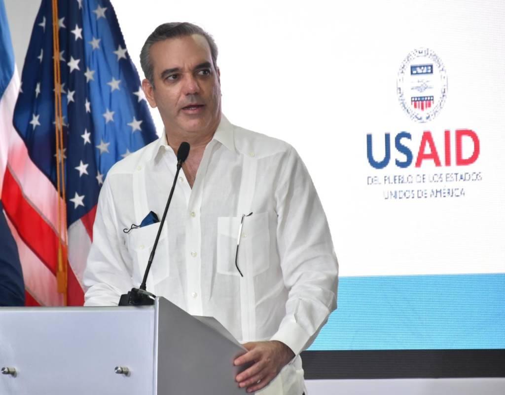 Presidente de la República Dominicana, Luis Abinader.