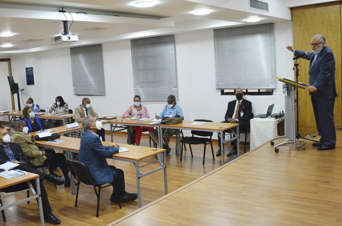 El ministro Ceara Hatton cerró las sesiones de inducción con la exposición sobre los lineamientos y estrategias para lograr el desarrollo de los territorios y sus habitantes.