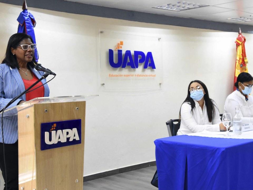 Sandra Lara, directora de Cooperación Bilateral del Ministerio de Economía, Planificación y Desarrollo.