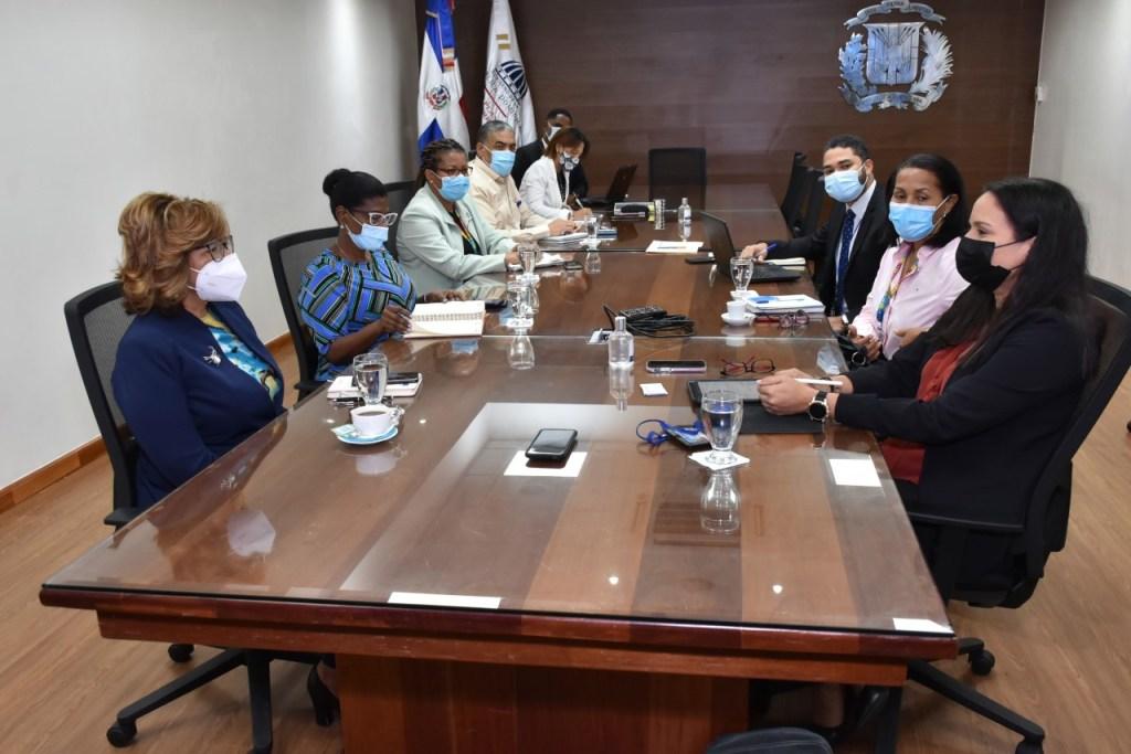 La reunión de trabajo entre ambos equipos centró su atención en el Plan Estratégico para la República Dominicana 2019-2023 del PMA.