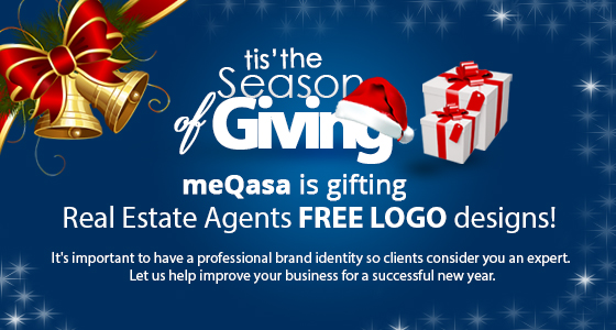 meqasa is gifting real estate agents free logo designs