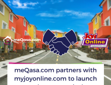 meQasa Partners MyJoyOnline to Launch New Real Estate Vertical