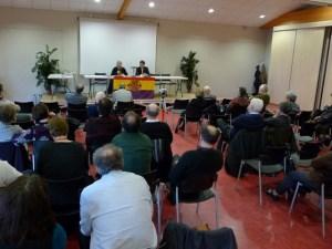 Une écoute attentive pendant la conférence de Fabien Garrido