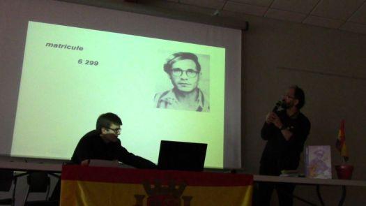 José CABRERO ARNAL poursuivant son combat humaniste au retour de MAUTHAUSEN.