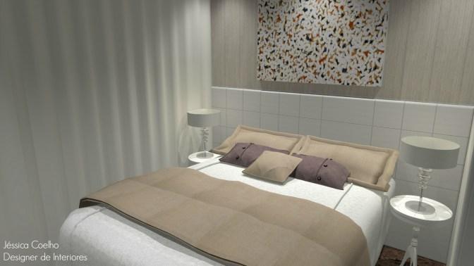 Dormitório de Casal- Apartamento Jardins