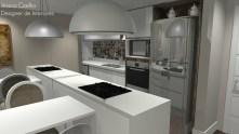 Cozinha- Apartamento Jardins