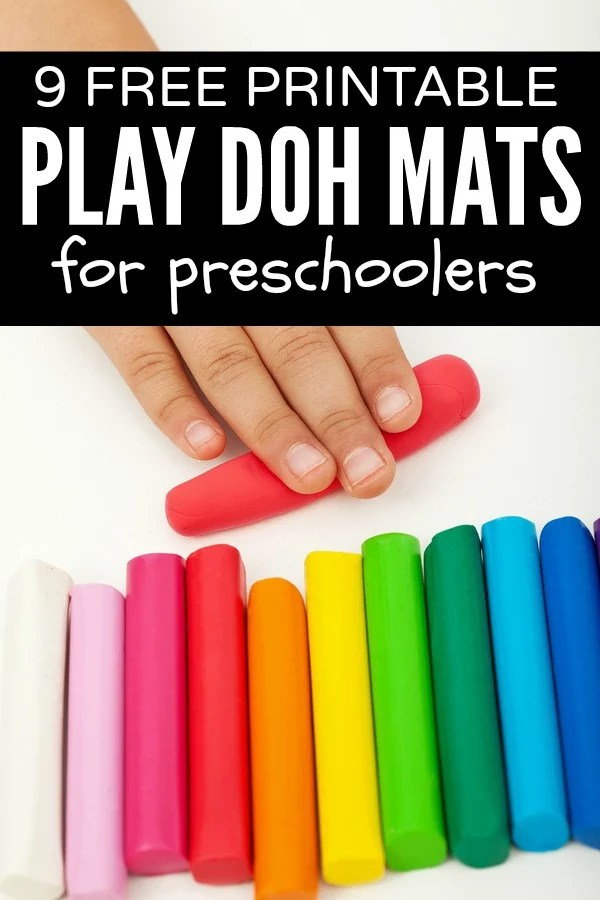 If your children enjoy playing with playdough (or play doh - I never know which spelling is right?!) as much as my daughter does, you will LOVE this collection of playdough activities and playdough mats for kids! Perfect for toddlers, for preschoolers, and for kindergarteners, these ideas will keep your kids busy for hours. They make the perfect indoor activities for bad weather days!