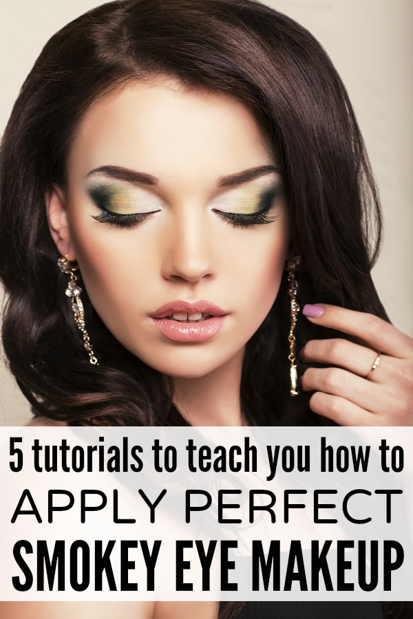 If you love that sexy smokey eye makeup look but have no clue what eyeshadow to buy or how to apply it, then this collection of tutorials is just what you need!
