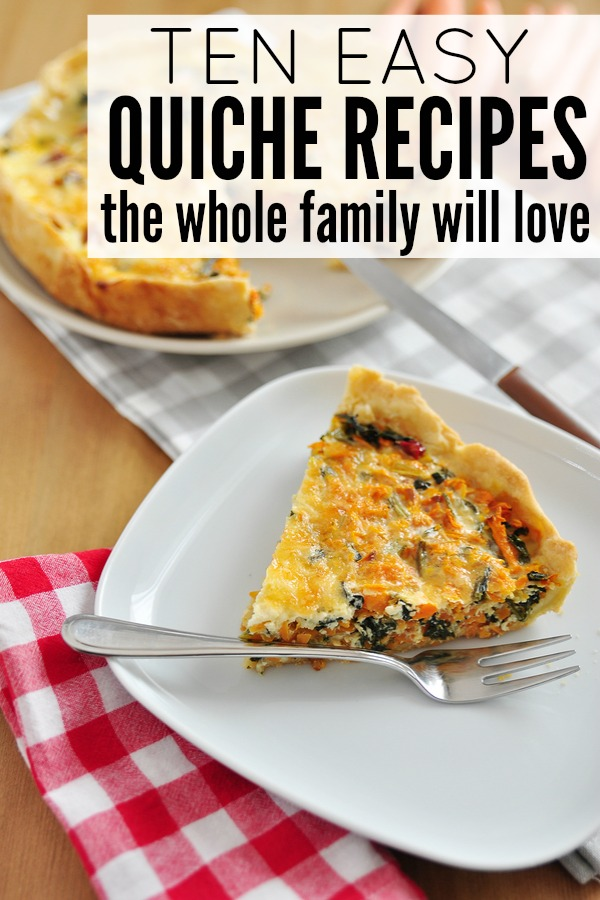 If you're in search of easy-to-make dinner recipes for your family that are tasty, full of protein, and that make you feel full, you will love this collection of quiche recipes!