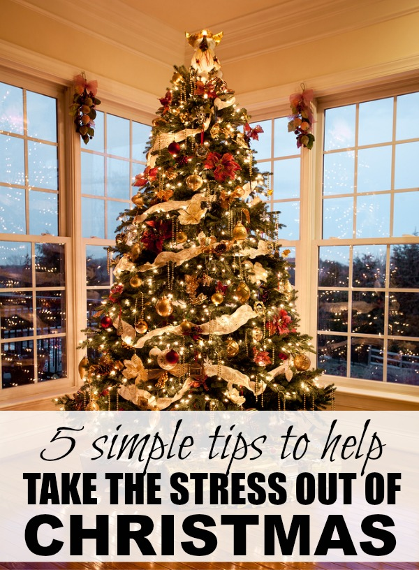 If you love Christmas, but hate the stress it causes, this list of 5 practical tips is just what you need to make it through the holidays!