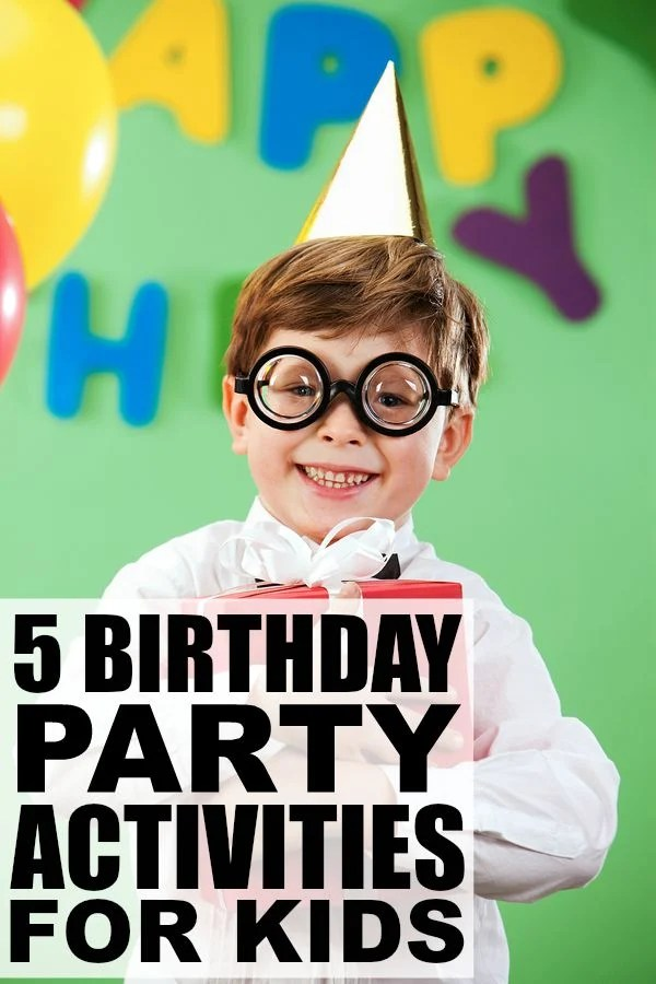If you're looking for birthday party activities for kids that don't take ages to prepare or cost an arm and a leg, this collection of old school birthday party games is for you! I have fond memories of the 1st game, and was pretty good at the 4th. How about you?