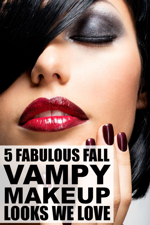 Whether you're looking for tips for applying fall vampy makeup, or just need some pointers for finding the perfect dark lipstick (hint: don't be afraid to combine 2 or more lipglosses!), these tutorials are for you! Some of these looks are dramatic, while others can be dressed down for daytime wear with a nude lip color, but all of them will make you excited for fall!!!