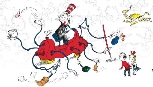 dr. seuss, çocuk edebiyatı, hayalperest, çocuk ve bilim, eğitim, öğrenme, değerler eğitimi, şapkalı kedi
