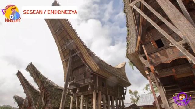 Endonezya, kültür, evler, mimarlık, mimar, dünyada yaşam, meraklı turşu, ilginç evler