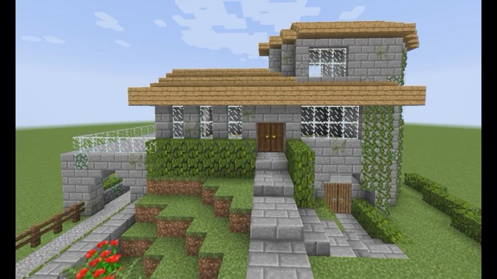 Casa Asiatica Minecraft