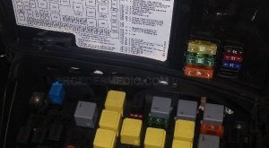 FUSE BOX 19982005 MercedesBenz ML Location Diagram