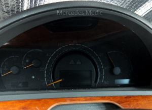SClass W220 Instrument Cluster Removal and Repair Tips