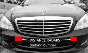 Mercedes Radar Sensor Problems & Solutions – MB Medic