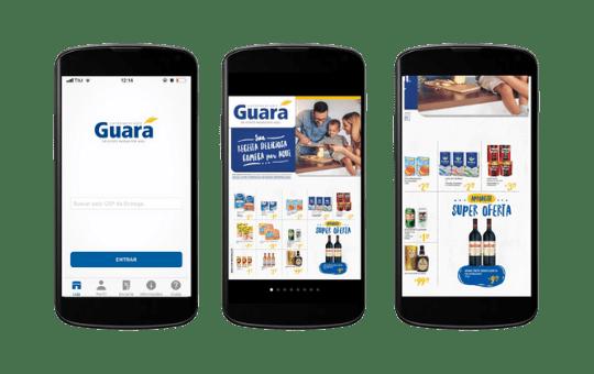 Encarte para supermercado virtual