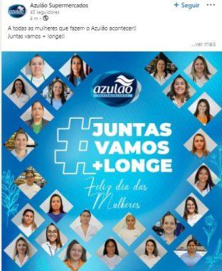 Linkedin Supermercado Azulão