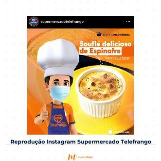 Dica Instagram Telefrango com categorias que mais vendem