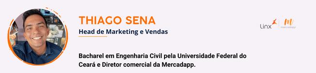 Assinatura do especialista Thiago Sena