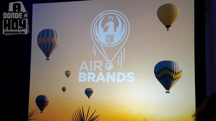 Cerveza Imperial Agua Positiva a la Vanguardia en Air Brands