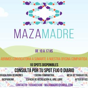 MazaMadre Cowork Cultural
