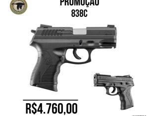 Pistola Taurus 838C – PROMOÇÃO
