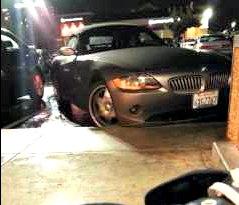 Como não estacionar uma BMW Z4