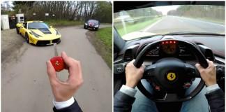 Ferrari 458 Italia 290 km/h na Autobahn