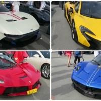 Os ricos do Oriente Médio e os carros mais mais caros do mundo