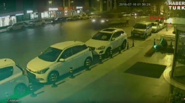 2 tanques passaram por cima de um homem na Turquia e ele sobreviveu