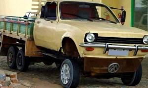 O brasileiro e seus veículos bizarros