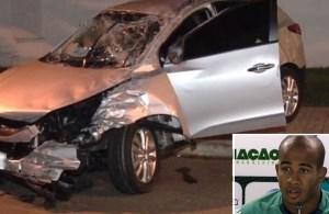 Acidente envolvendo o Volante Patrick na Rua T-36, St Bueno, Goiânia-GO