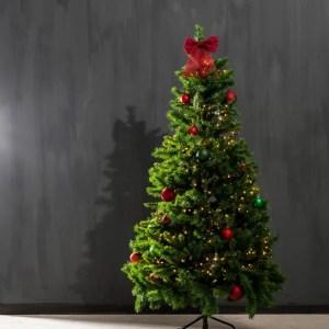PRINCESS Árvore de Natal verde H 180 cm; Ø 102 cm