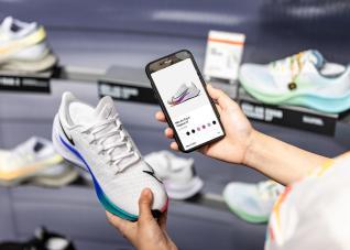Loja Nike Rise em Guangzhou, na China