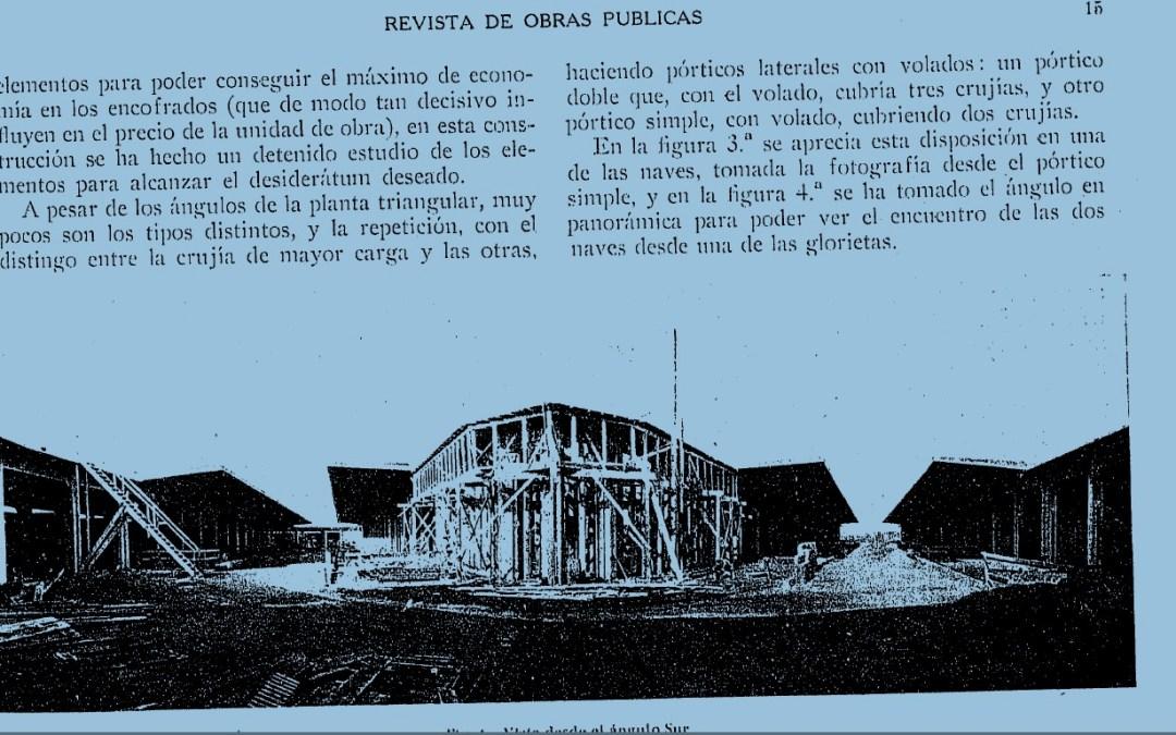 Artículo de Peña Boeuf de 1935 sobre la construcción del Mercado